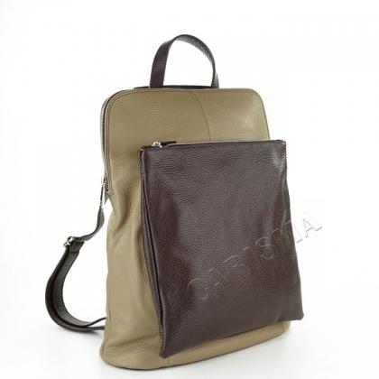 Чанта раница в два цвята 1154I
