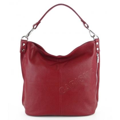 Дамска чанта тип торба с вертикален цип 2203-2