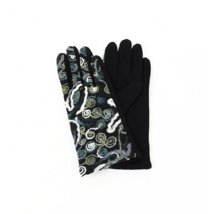 Дамски ръкавици с бродерия 2192