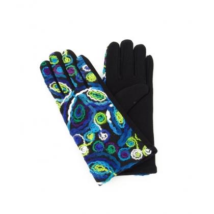 Дамски ръкавици с бродерия 2192-1