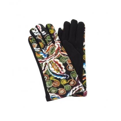 Дамски ръкавици с бродерия 2192-2