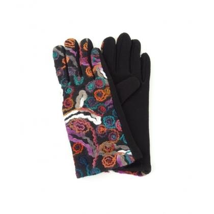 Дамски ръкавици с бродерия 2192-3