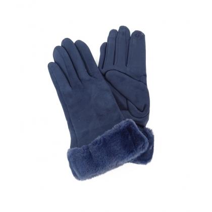 Плюшени дамски ръкавици