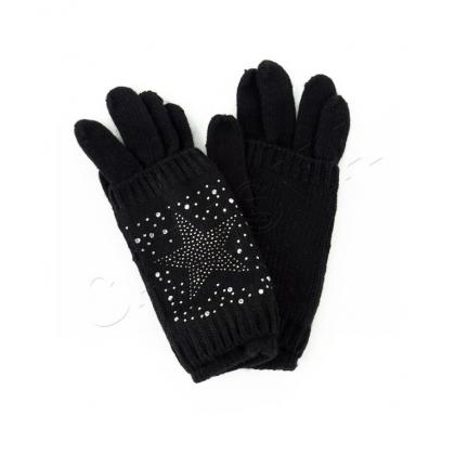 Двойни плетени ръкавици 832-1