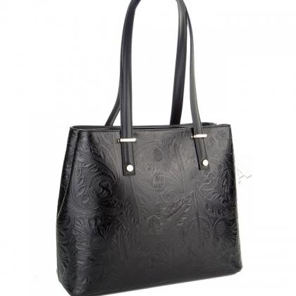 Чанта с флорални мотиви