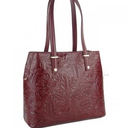 Чанта с флорални елементи 1154-1
