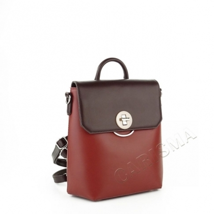 Чанта-раница от еко кожа, David Jones, 5863DJ-1