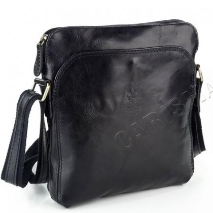 Мъжка чанта в черно 1918