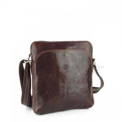 Мъжка чанта в тъмно кафяво 19181-2