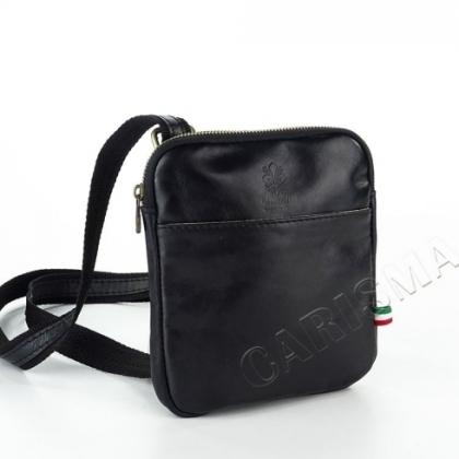 Малка мъжка чанта, черна 19181
