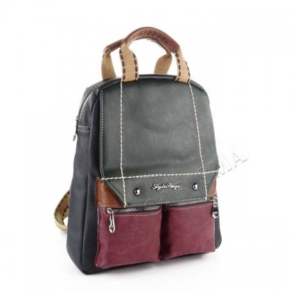 Многоцветна чанта - раница 1032