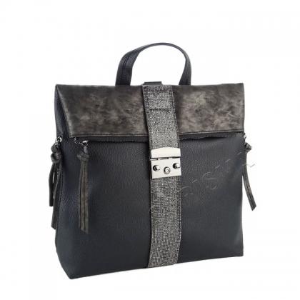 Раница-чанта с декоративни камъни 8344-1