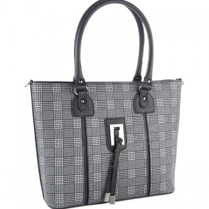 Дамска чанта на райета 9988