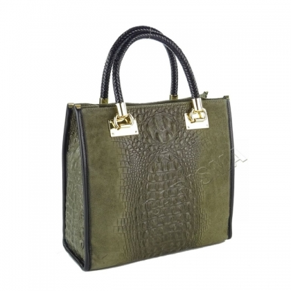 Чанта от естествен велур 1367-4