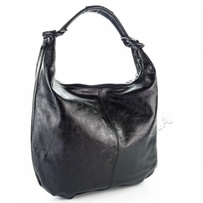 Черна чанта тип торба 1393L-5