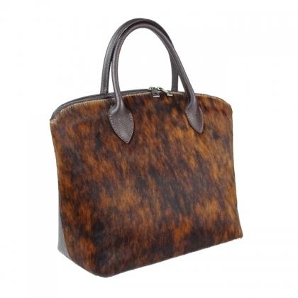 Дамска чанта с естествен косъм 16665