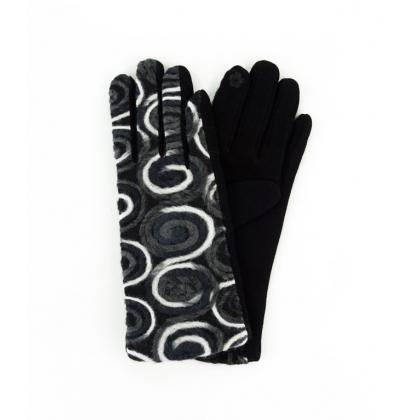 Дамкси ръкавици с бродерия 223