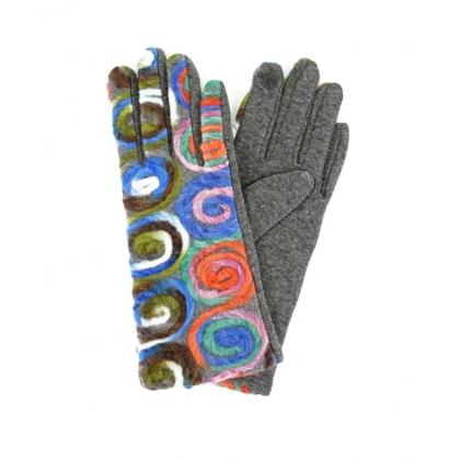 Тактилни дамски ръкавици 223-2