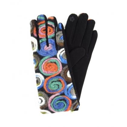 Тактилни дамски ръкавици 223-3