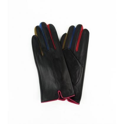 Черни кожени ръкавици 2186