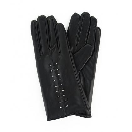 Авангардни дамски ръкавици Черни 2186-1