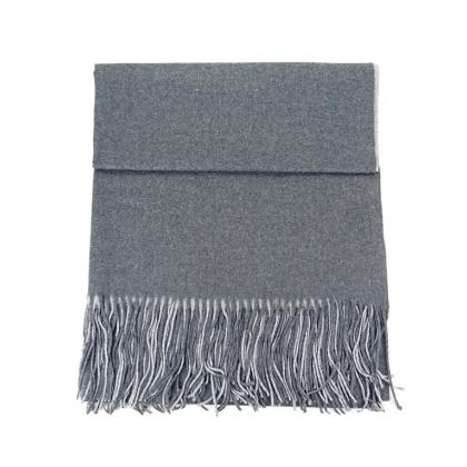 Двуцветен шал