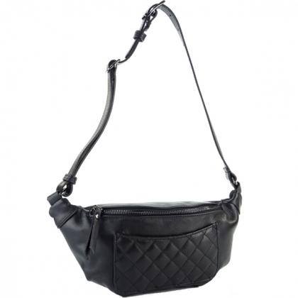 Чанта за кръст Черна 1001