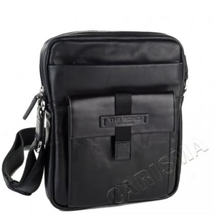 Мъжка кожена чанта с джоб 2225B-1