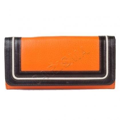 Стилен портфейл, естествена кожа 1097T