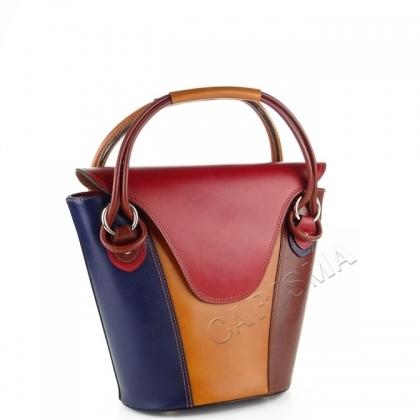Многоцветна дамска чанта 1910V