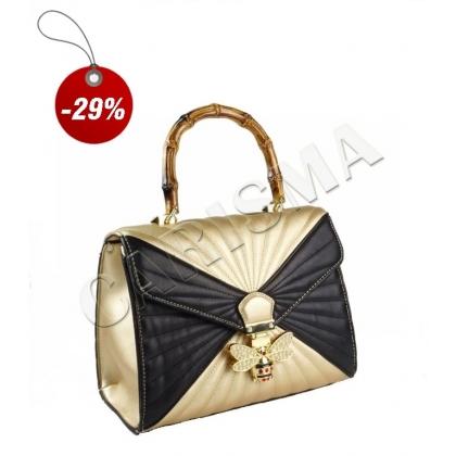 Дамска чанта в два цвята 3110-6