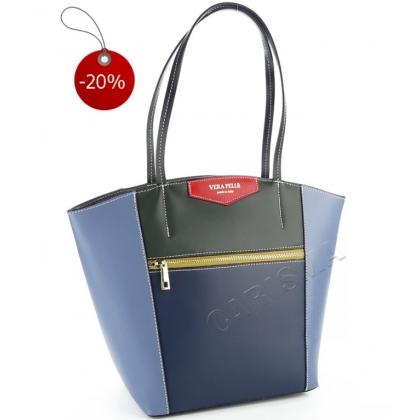 Многоцветна дамска чанта 1911V