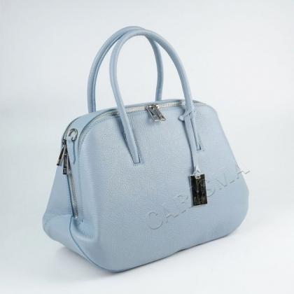 Стилна дамска кожена чанта
