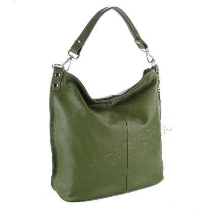 Чанта тип торба Писташио 2203-6