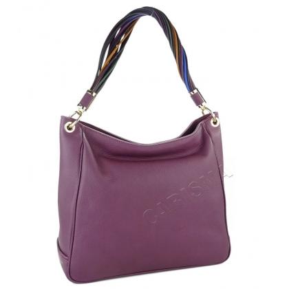 Дамска чанта с многоцветна дръжка 183M