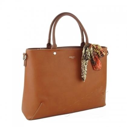 Дамска чанта с декоративен шал 1490-2