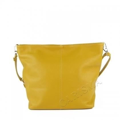 Жълта мека чанта