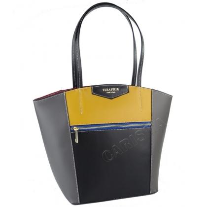 Дамска чанта от естествена кожа 1911V-2