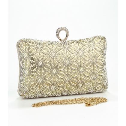 Абитуриентска чанта с ръчно лепени камъни