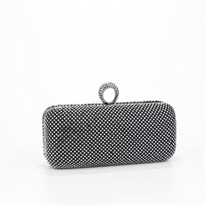 Абитуриентска чанта с камъни цирконий