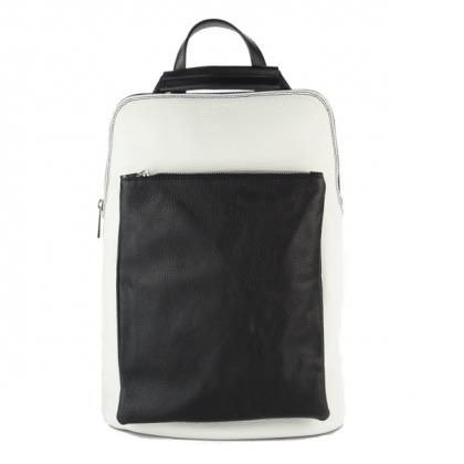 Чанта раница в черно и бяло, 1150-7
