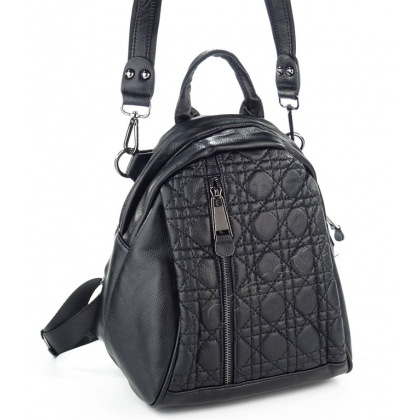 Черна кожена чанта раница, 1577-1