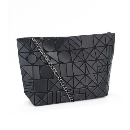 Чанта тип несесер с тригонометрични фигури 7322Y