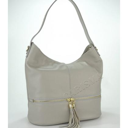 Дамска чанта от естествена кожа в гълъбово 1218-5