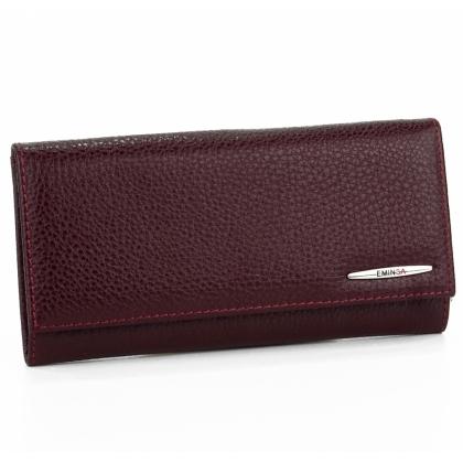 Класическо дамско портмоне, Бордо, 2153-8