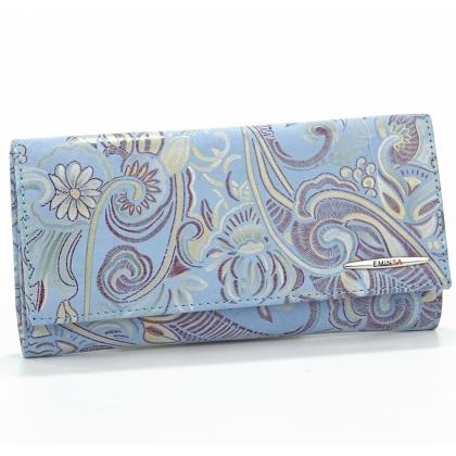 Синьо дамско портмоне