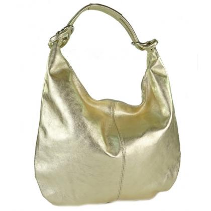 Златна чанта тип торба, 1393L-8
