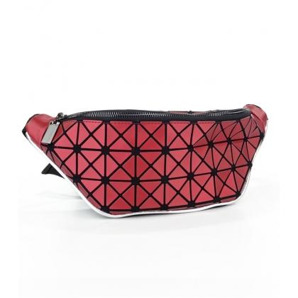 Червена чанта за кръст