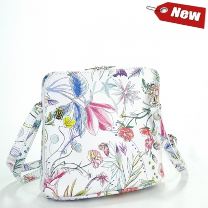 Малка чанта за през рамо на цветя 1353