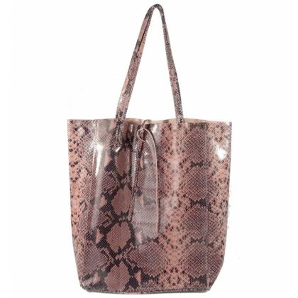Розова чанта тип торба, Змийска, 1666-7